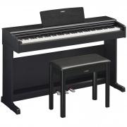Yamaha Piano Digital ARIUS YDP-144B Preto (Com Estante e Banco)