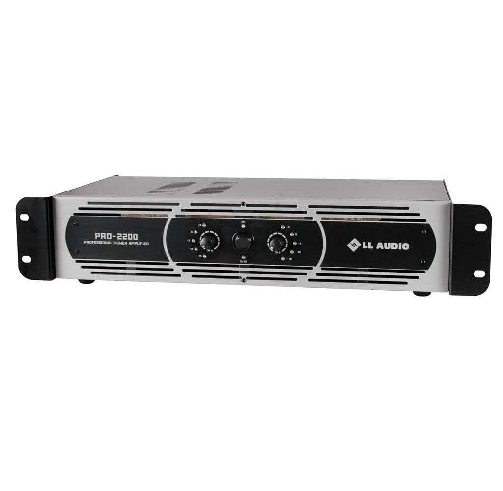 Amplificador de Potência LL Audio PRO2200 (550w RMS)