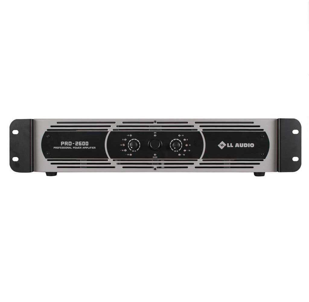 Amplificador de Potência LL Audio PRO2600 (650w RMS)