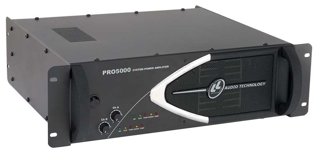 Amplificador de Potência LL Audio PRO5000 (1250w RMS)