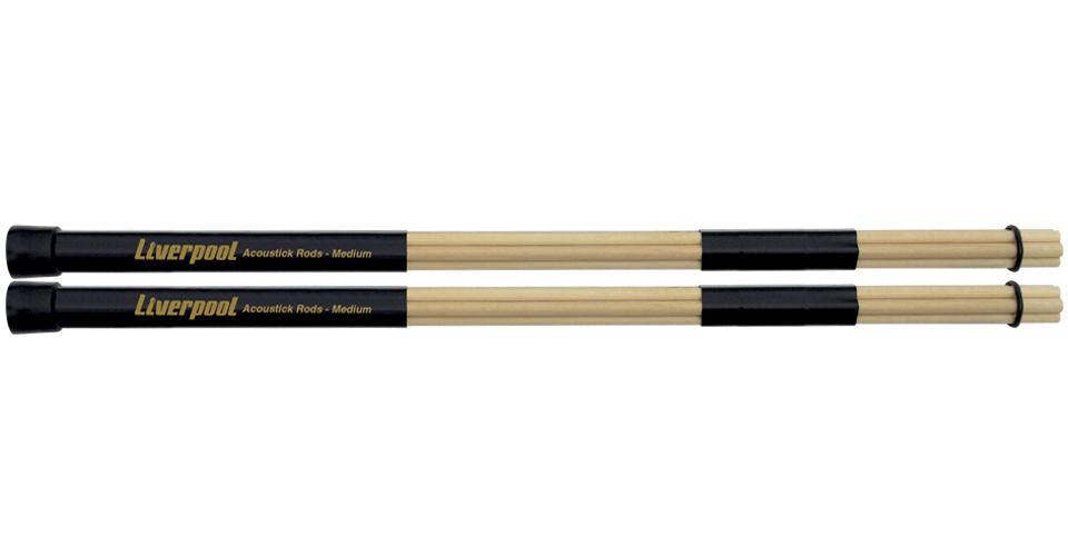 Baqueta Liverpool Acoustick Rods Medium RD155 (7 Varetas)