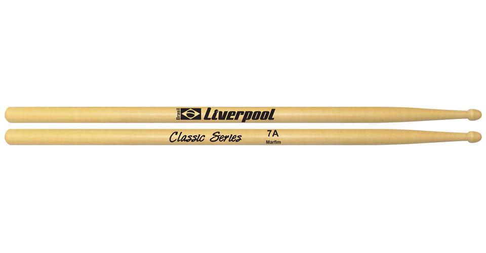 Baqueta Liverpool Classic Marfim 7A LL7AM (Ponta Madeira)