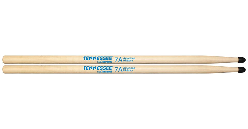 Baqueta Liverpool Tennessee Hickory 7A TNHY7AN (Ponta Nylon)