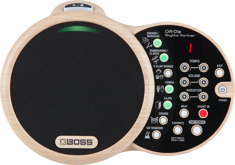 BOSS Módulo de Ritmos DR-01S (Rhythm Partner Percussão Digital)
