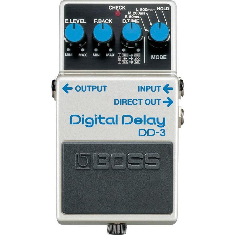 BOSS Pedal de Efeito para Guitarra Digital Delay DD-3