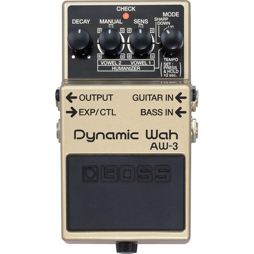BOSS  Pedal de Efeito para Guitarra Dynamic Wah AW-3