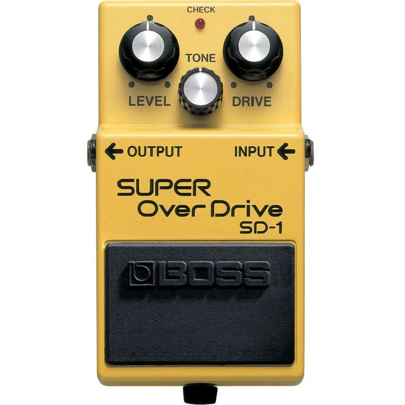 BOSS Pedal de Efeito para Guitarra Super Over Drive SD-1