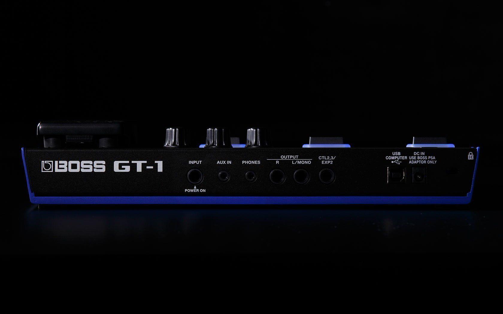 Boss Pedaleira Multi Efeitos para Guitarra GT-1