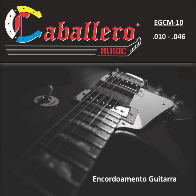 Encordoamento para Guitarra Caballero 010-046 EGCM