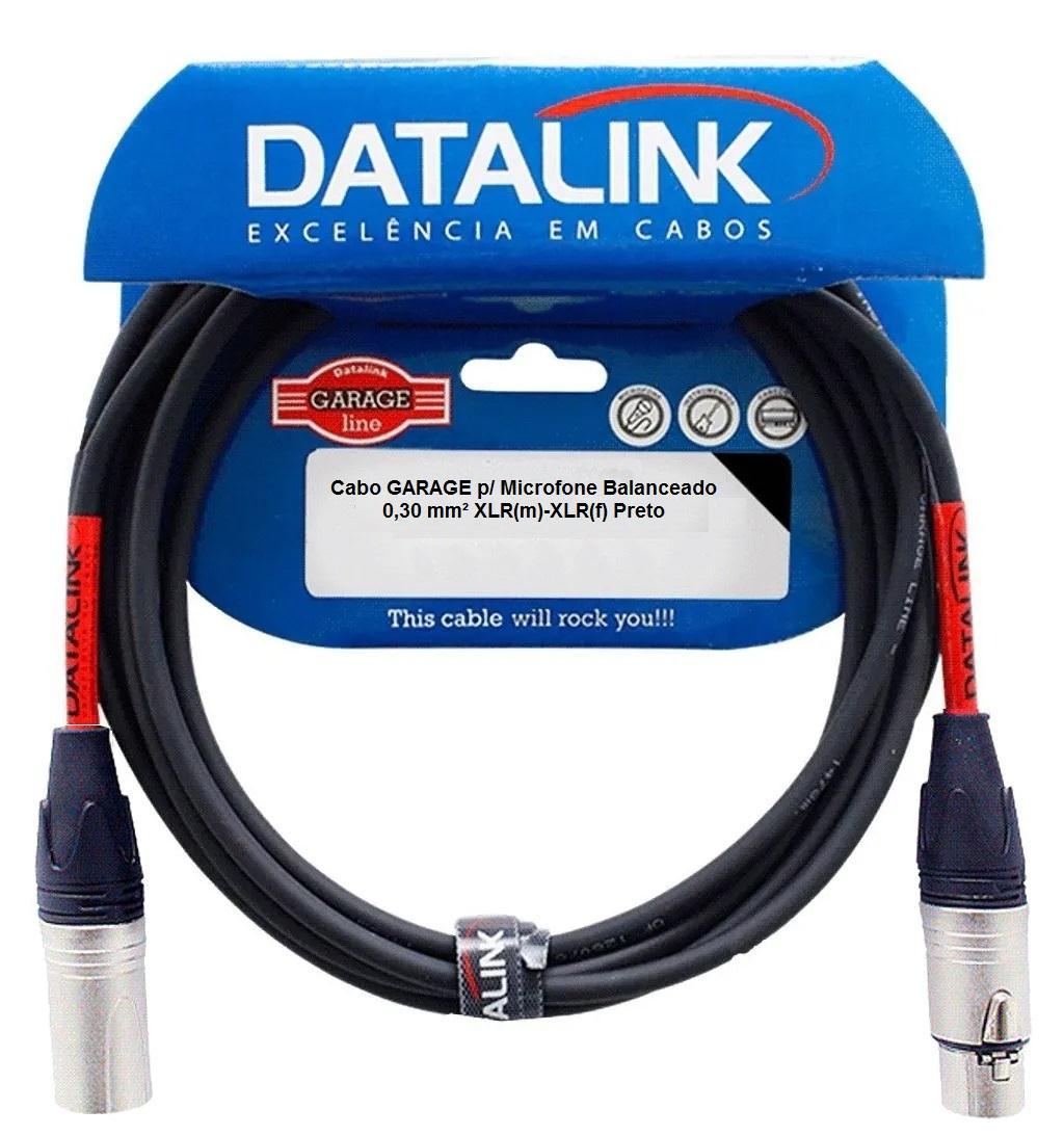 Cabo XLR/XLR Datalink GARAGE GB005 (10 Metros)