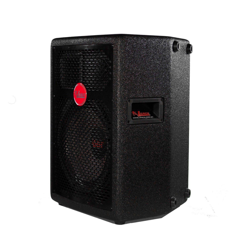 Caixa Ativa Leacs FIT-160A (10''/3 Vias/150w RMS/FM/SD/USB/Bluetooth)
