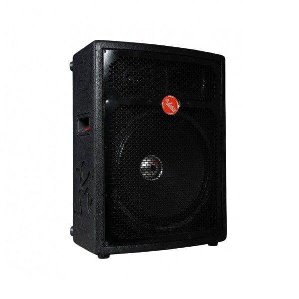 Caixa Ativa Leacs FIT-320A (12''/3 Vias/250w RMS/FM/SD/USB/Bluetooth)