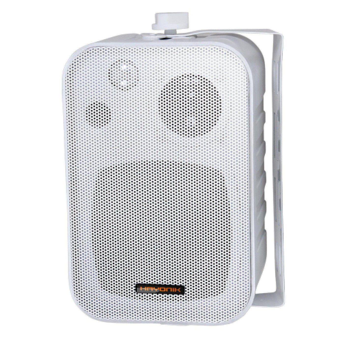 Caixa Acústica para Som Ambiente Hayonik MSB-406W (Par/60w RMS/Branca)