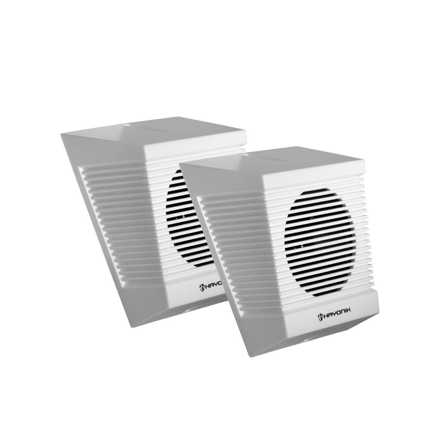 Caixa Acústica para Som Ambiente Hayonik SA-140T (Par/10w RMS/Branca)
