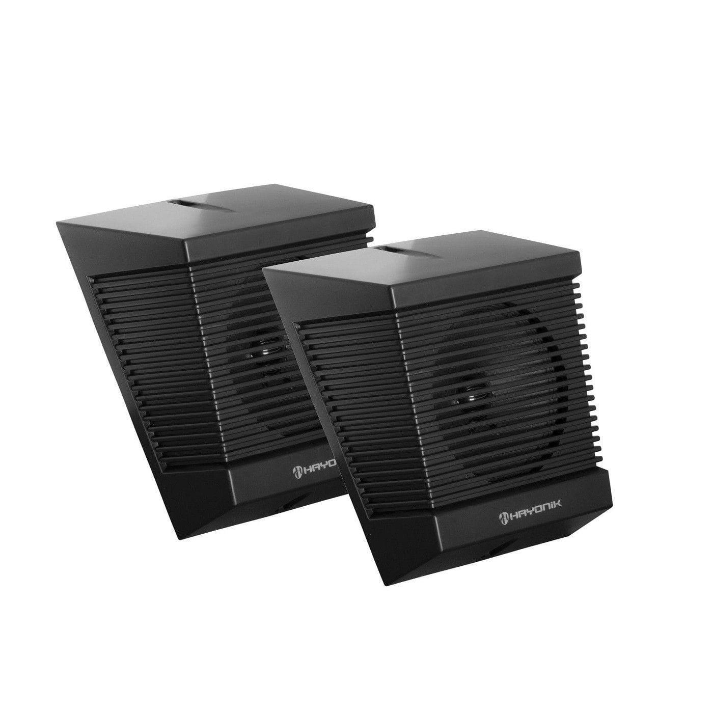 Caixa Acústica para Som Ambiente Hayonik SA-140T (Par/10w RMS/Preta)