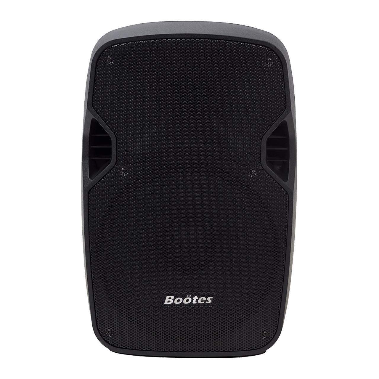 "Caixa Ativa Boötes BDA-1212 (12""/190w RMS/USB/BT/FM/Titânio/Saída para Caixa Passiva)"