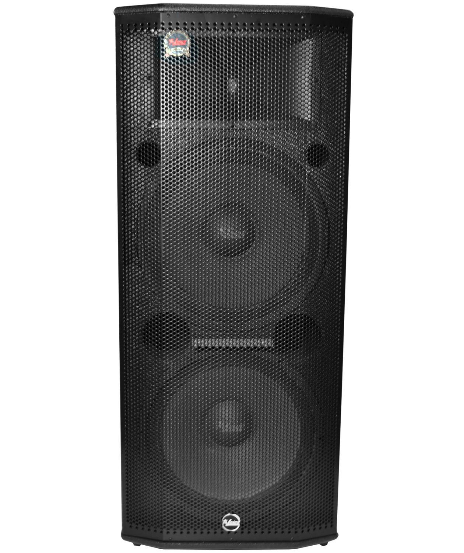 """Caixa Ativa Leacs Pulps-950A (2x15""""/500w RMS/USB/Bluetooth/FM/Cartão SD)"""