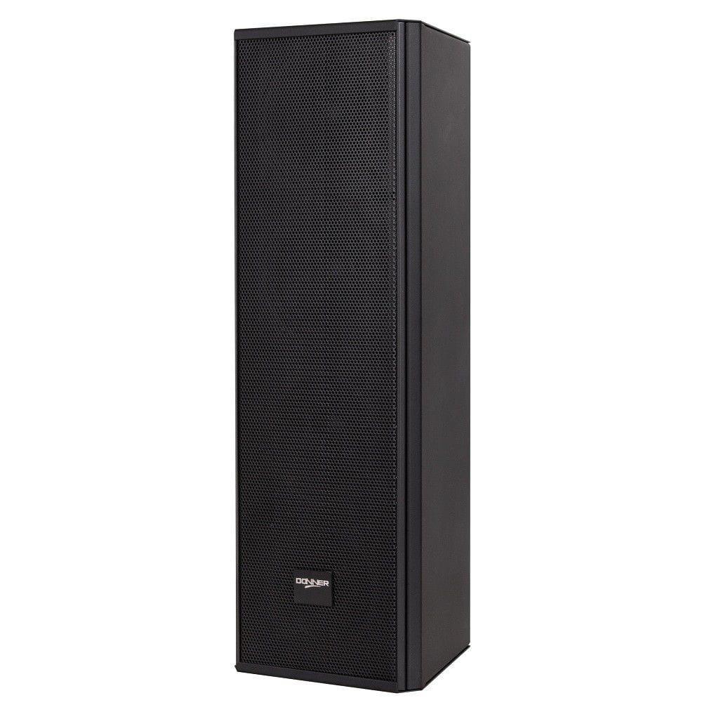 """Caixa Line Array Vertical Acústica LL Audio Donner C425 (4x4""""/100w RMS/Preta)"""