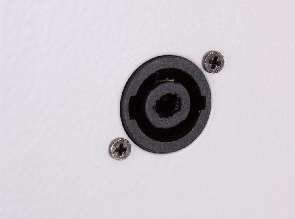 "Caixa Line Array Vertical Acústica LL Audio Donner C825 (8x4""/200w RMS/Branca)"