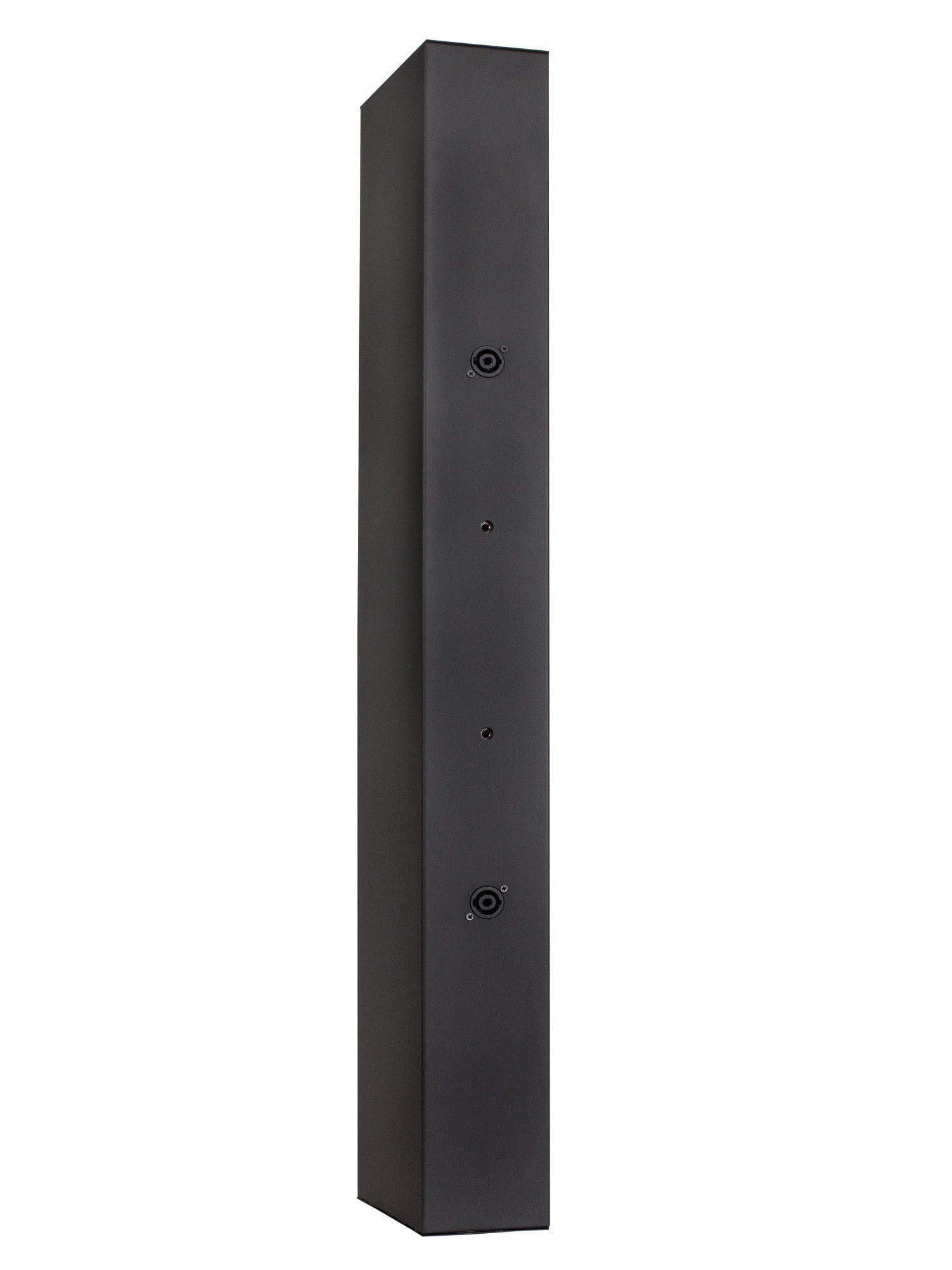 """Caixa Line Array Vertical Acústica LL Audio Donner C825 (8x4""""/200w RMS/Preta)"""