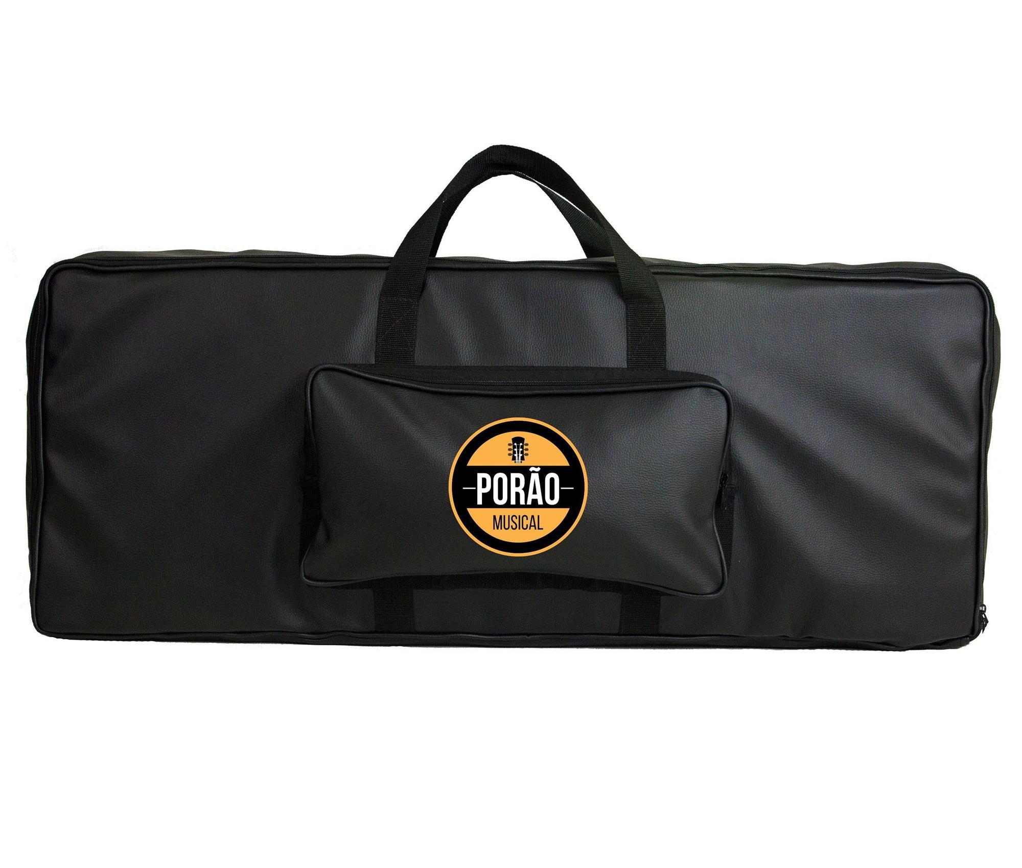 Capa Bag para Teclado 5/8 Couro Sintético