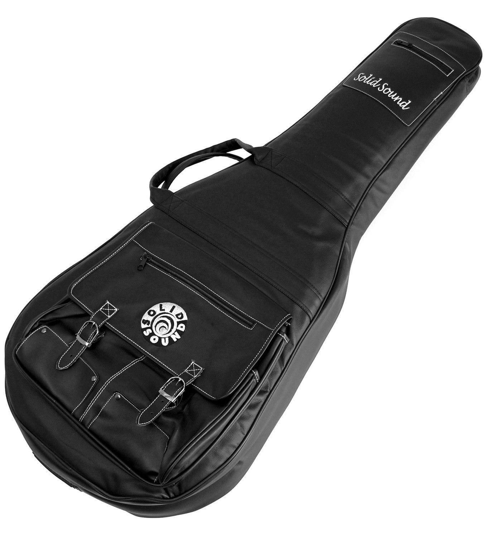 Capa Bag para Violão Clássico Solid Sound LT Preto (Couro Sintético)