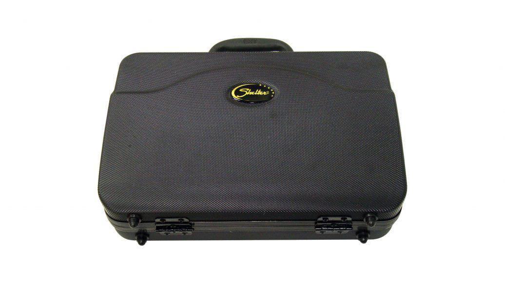 Clarinete  Shelter FT6402E em SI BEMOL 17 Chaves com Estojo Extra Luxo