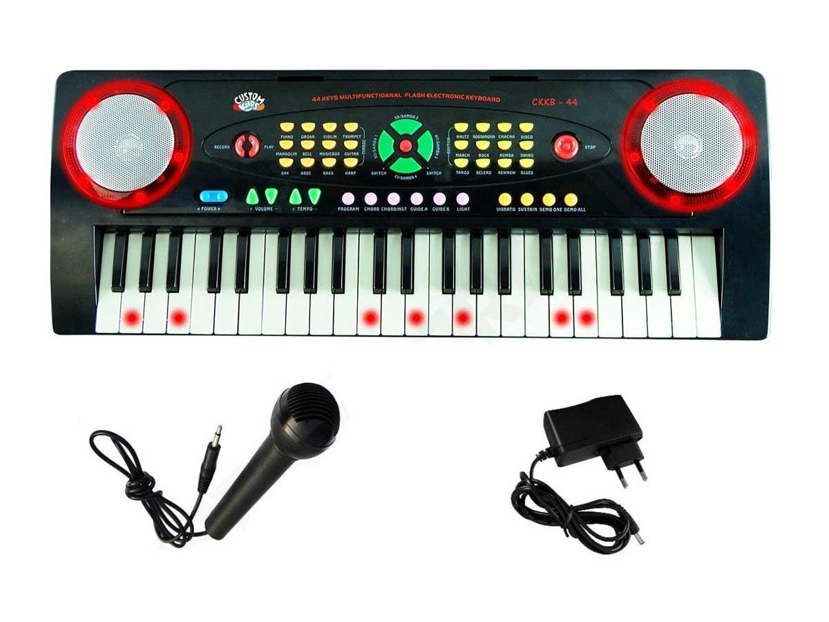 Teclado Infantil Custom Kids CKKB-44 (44 Teclas/Microfone)