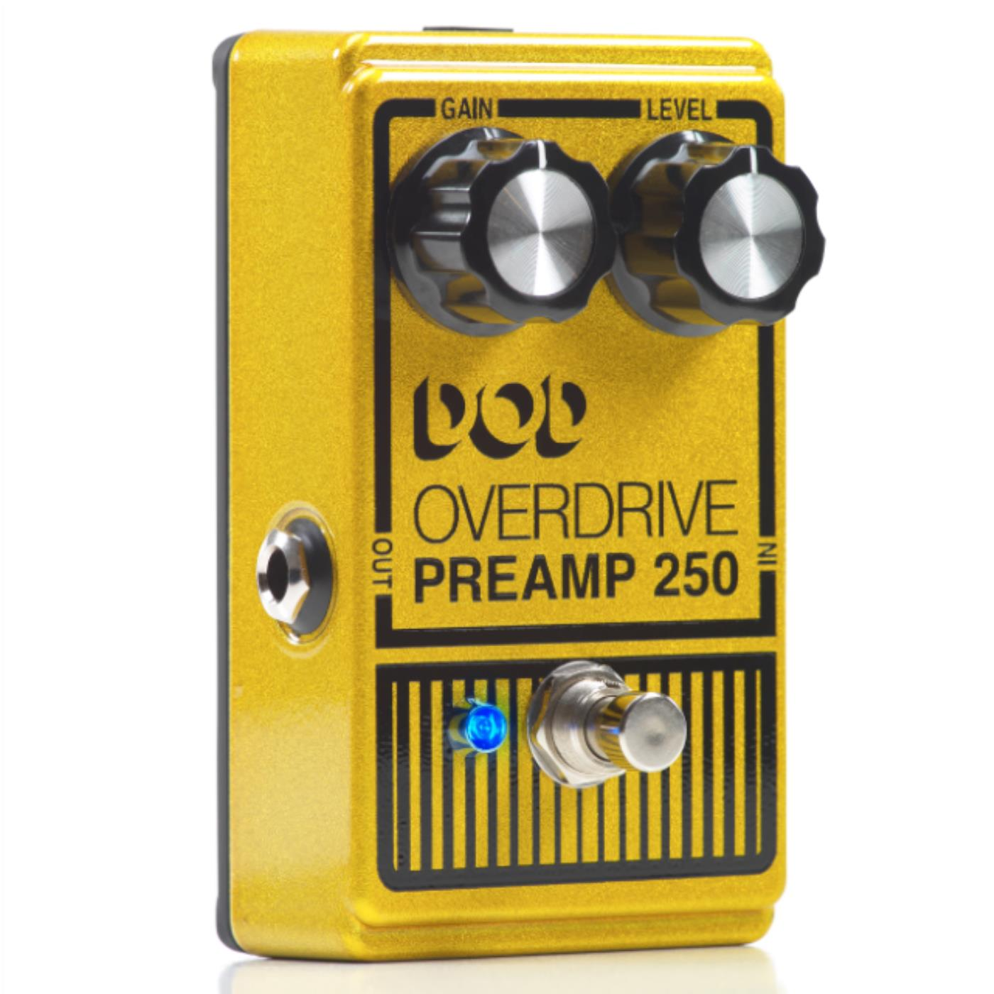 DigiTech DOD Pedal De Efeito Para Guitarra Overdrive PREAMP 250