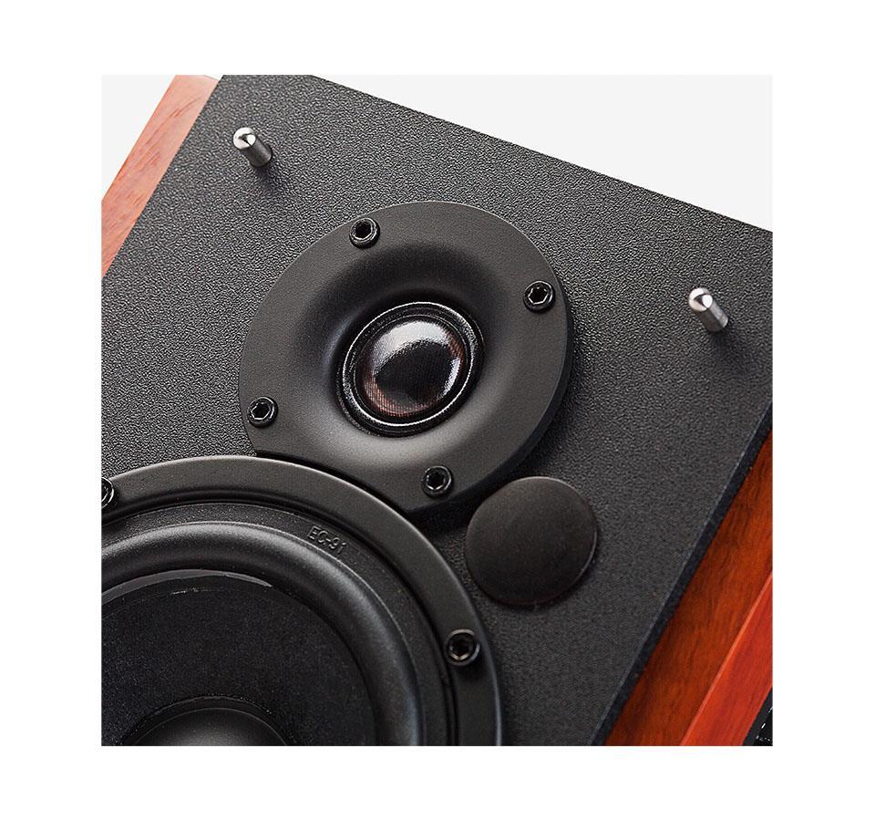 Edifier Monitor de Referência para Estúdio R1700BT (4''/PAR/66w RMS/Bluetooth/Madeira)