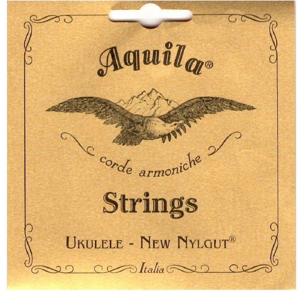 Encordoamento Aquila para Ukulele Soprano AQ 5U-SL (Low G)