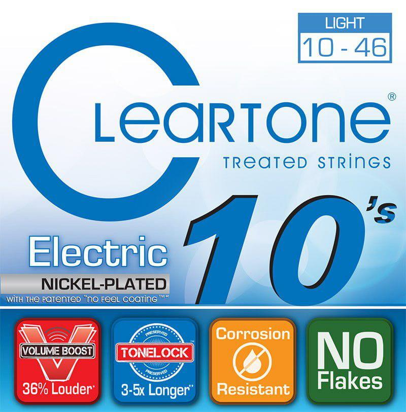 Encordoamento para Guitarra Cleartone 010-046 Nickel-Plated