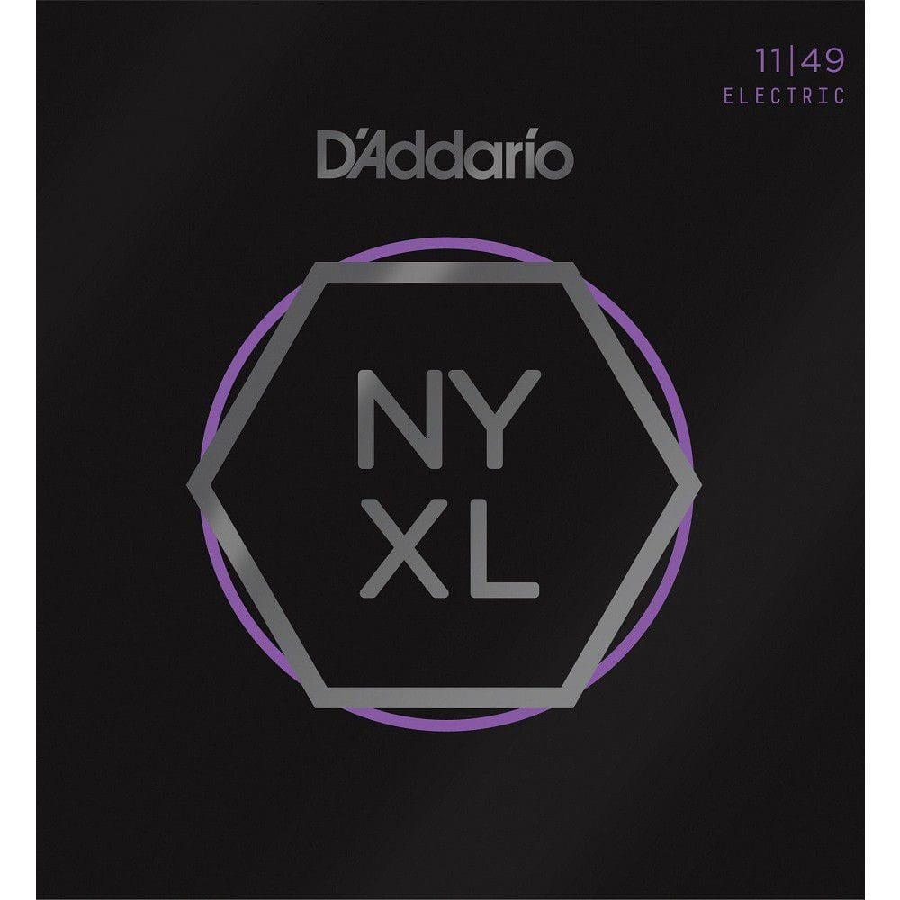 Encordoamento para Guitarra D'Addarío 011-049 - NYXL 1149 (Nickel Wound)