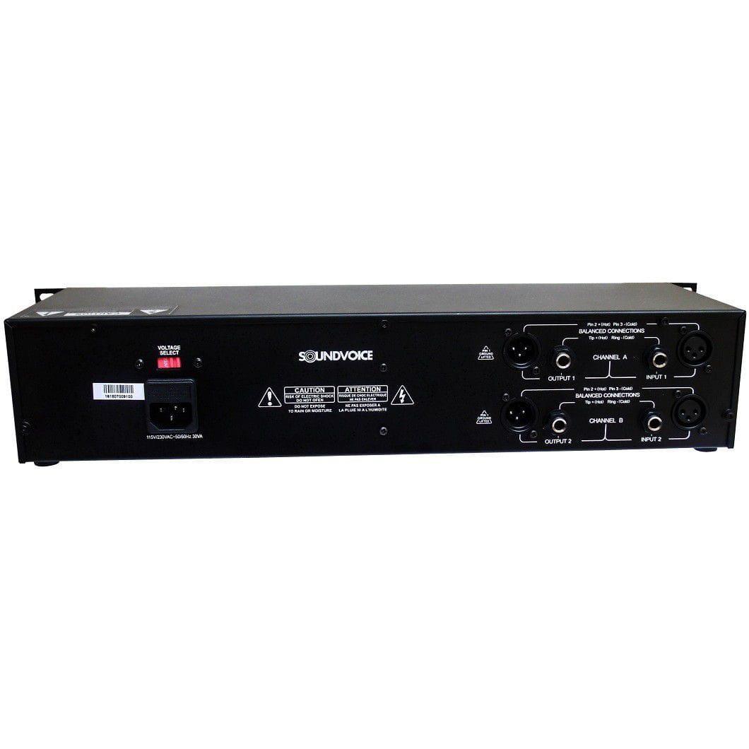 Equalizador Grafico Soundvoice EQ231 (Estereo/2 Canais/31 Bandas por Canal)