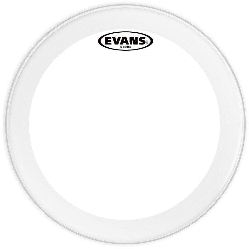 Evans Pele para Bumbo 20? EQ3 Batter Clear Transparente BD20GB3