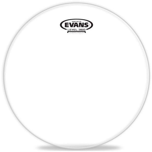 Evans Pele Resposta 14? Snare Side 300 Transparente S14H30