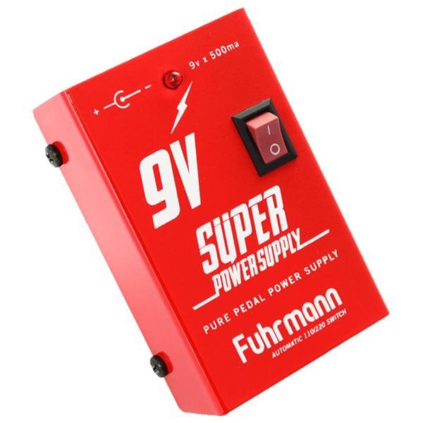 Fuhrmann Fonte para Pedal Power Supply FT500A (9V x 500ma)