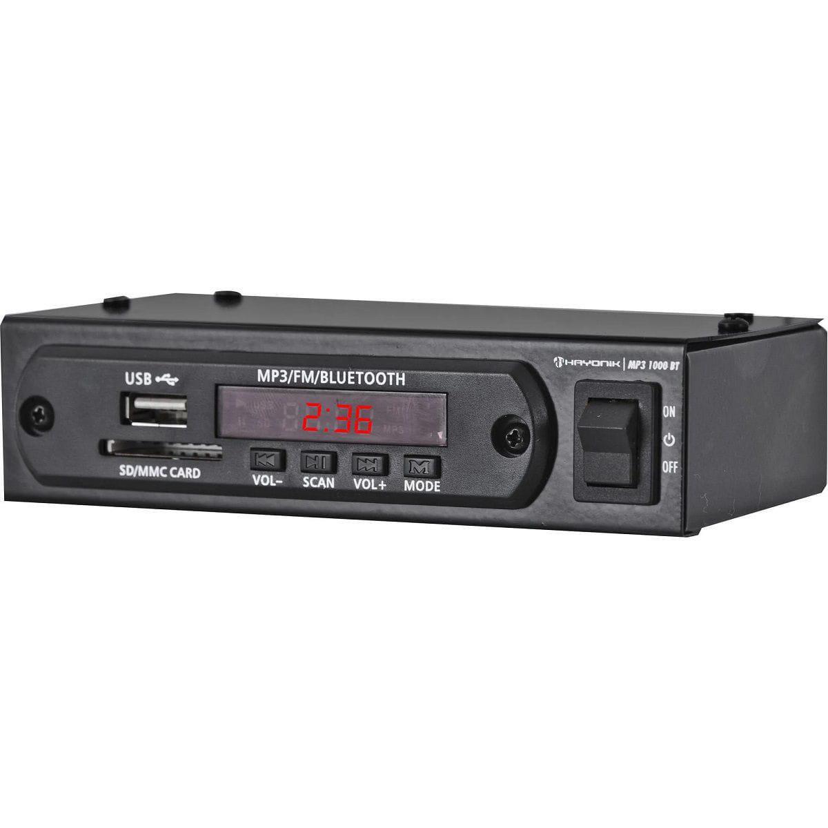 Hayonik Módulo Pré Amplificador MP3 1000BT (FM/USB/MP3/Bluetooth)