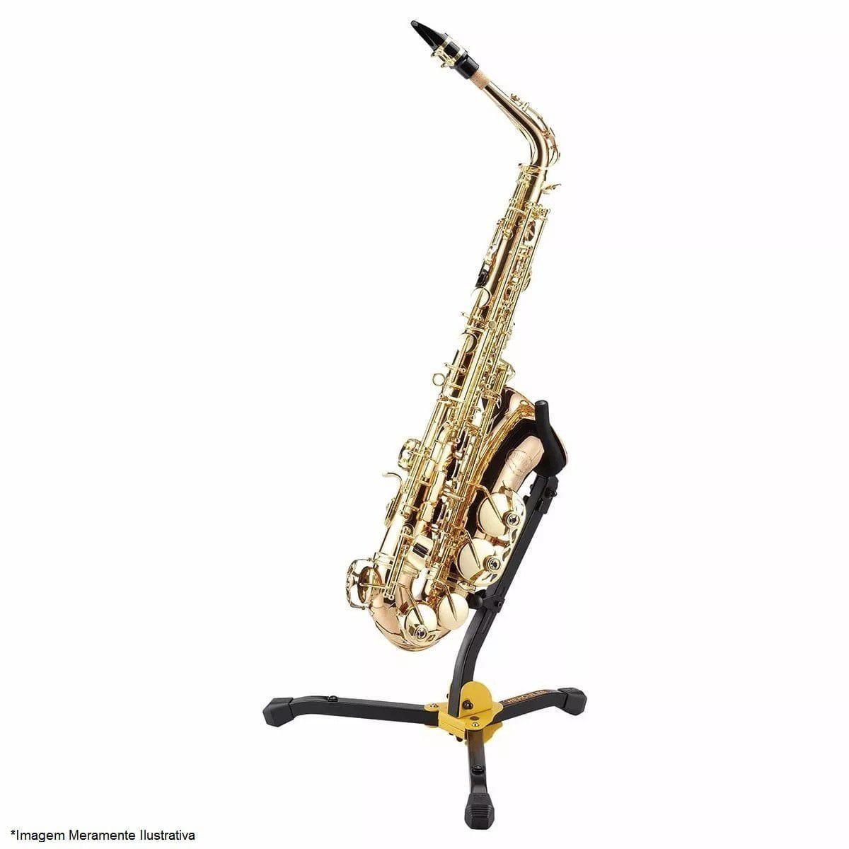 Hercules Suporte para Saxofone Alto/Tenor DS530BB (Com Bag)