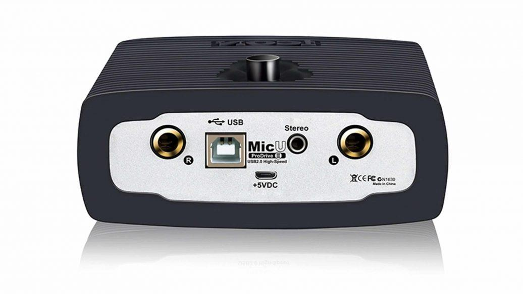 Icon Interface de Áudio para Gravação MicU ProDrive III - USB
