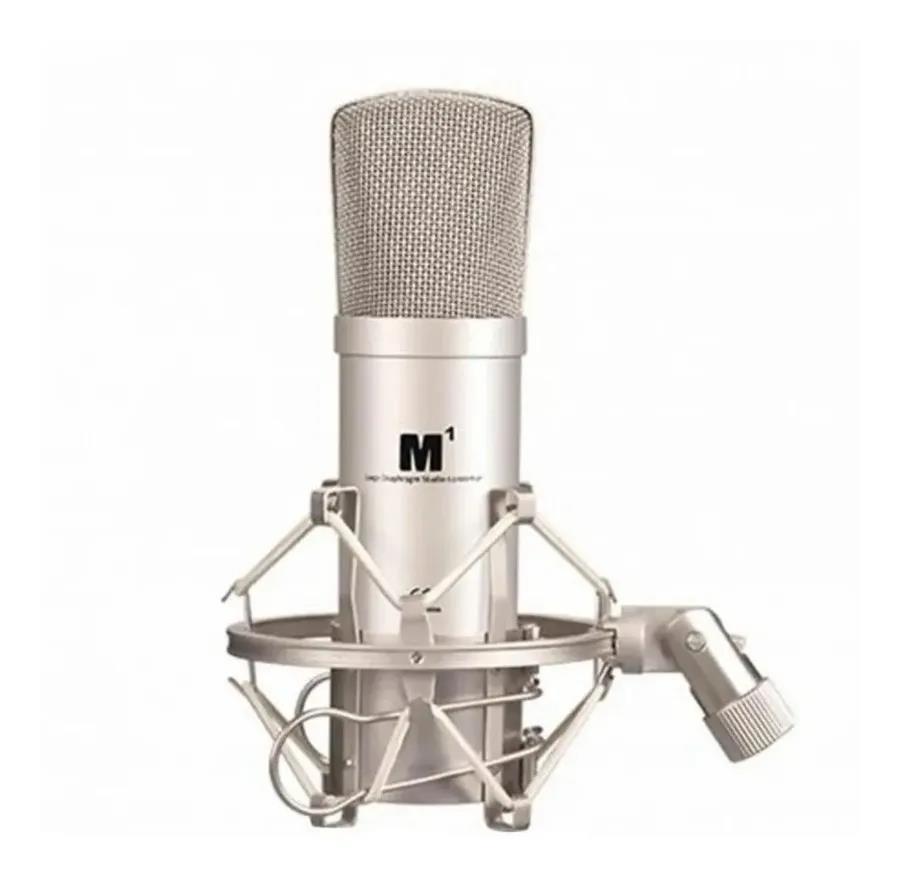 Icon Microfone Condensador M1 (Com Aranha/Case)