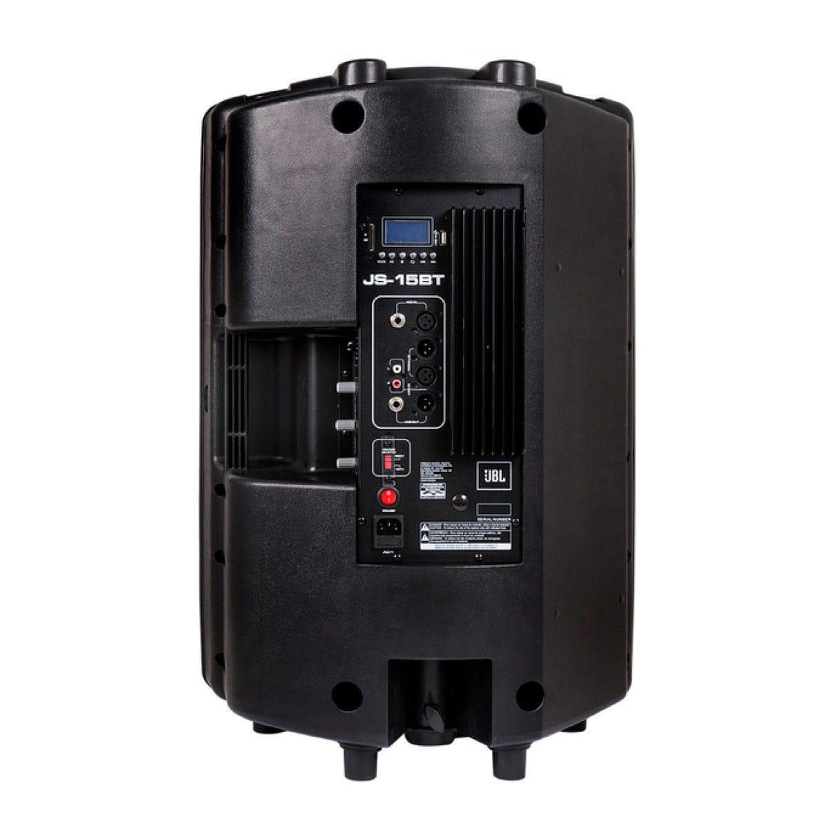 """JBL Caixa Ativa JS-15BT (15""""/200w RMS/USB/Bluetooth/Cartão SD)"""