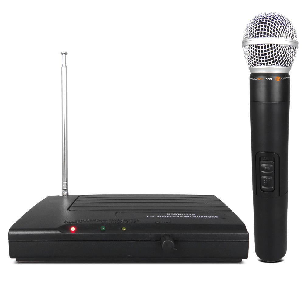 Microfone Sem Fio Kadosh KDSW-231M (VHF)