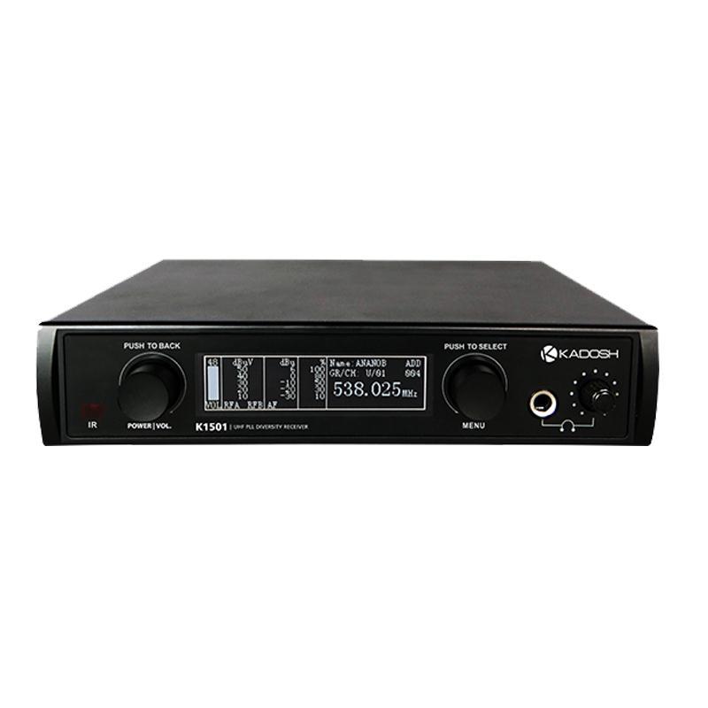 Kadosh Microfone Sem Fio K-1501M (UHF/Display Digital com 320 Canais)