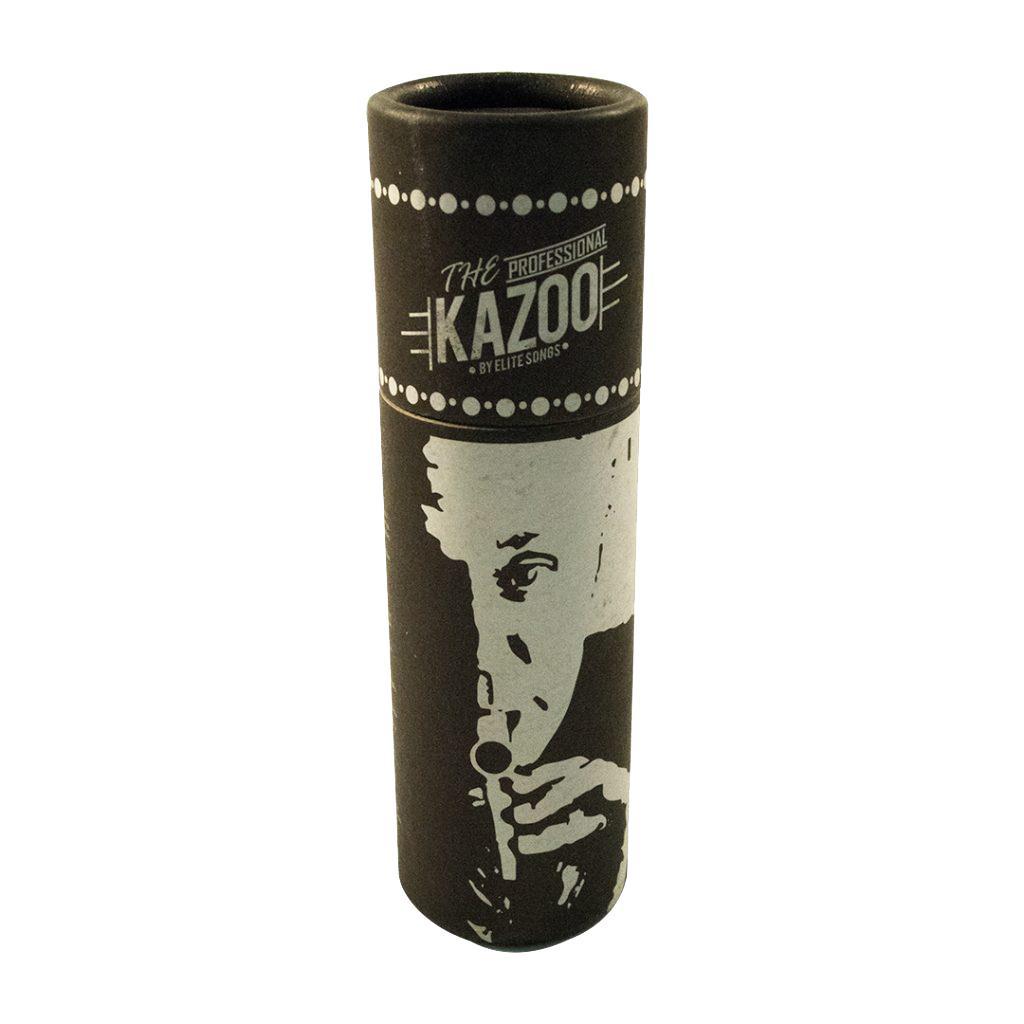 Kazoo Metálico Profissional (Prateado)