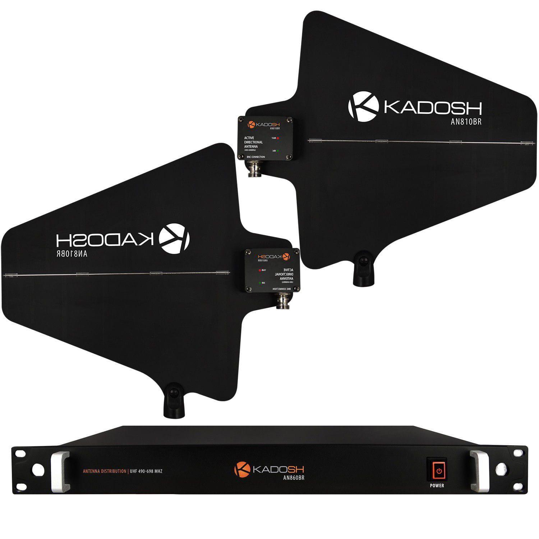 KIT Antena Direcional Kadosh AN-810BR + Distribuidor de Sinal