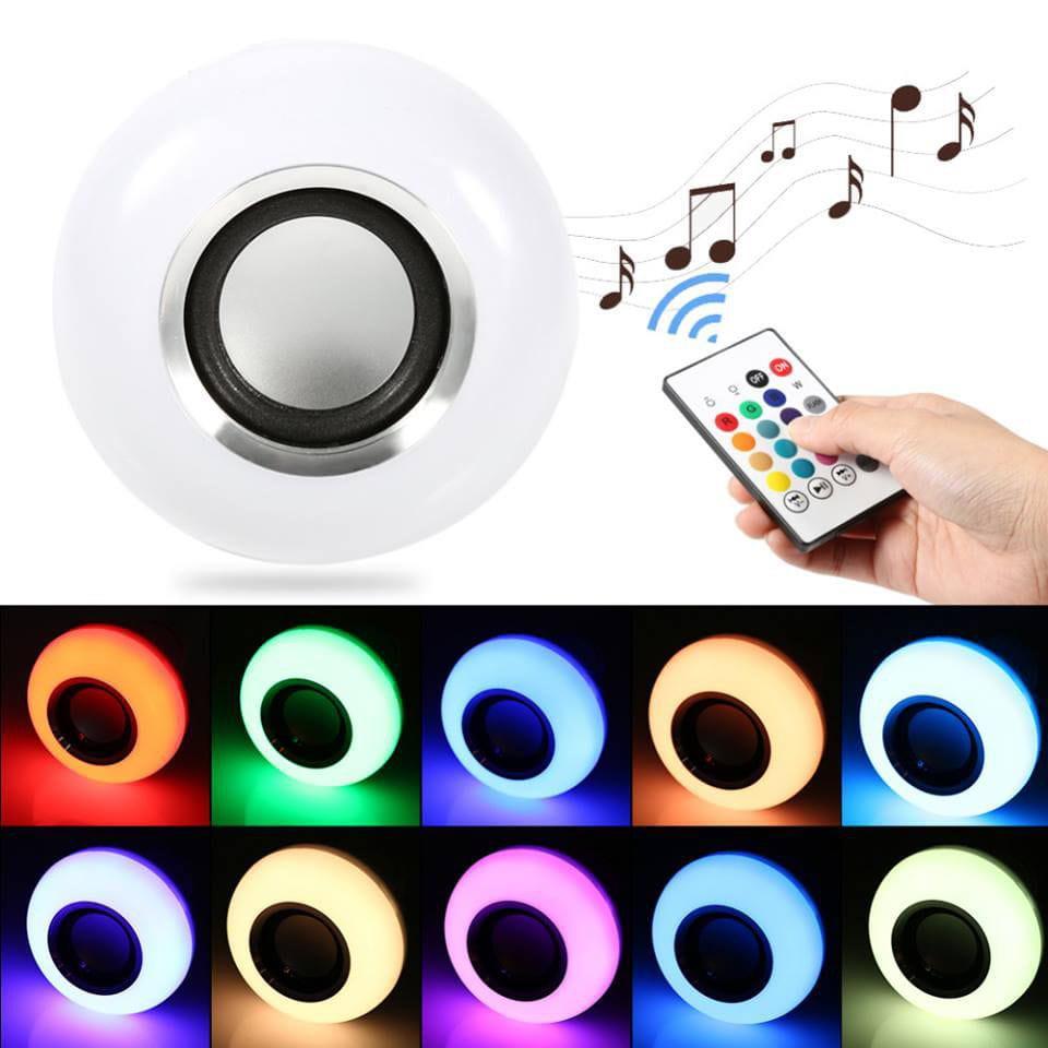 Lâmpada LED RGB Bluetooth Speaker Light (Bivolt)