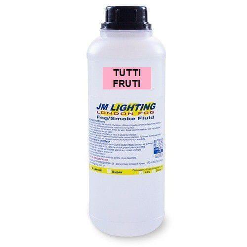 Líquido Para Máquina de Fumaça JM LIGHTING (Tutti Fruti/1 Litro)