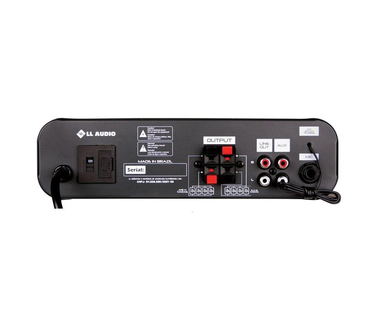 LL Audio Amplificador Compacto SA10 (30w RMS/USB/Cartão SD)