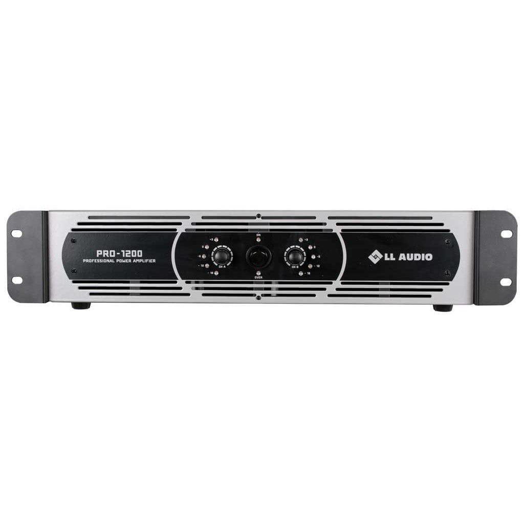 Amplificador de Potência LL Audio PRO1200 (300w RMS)